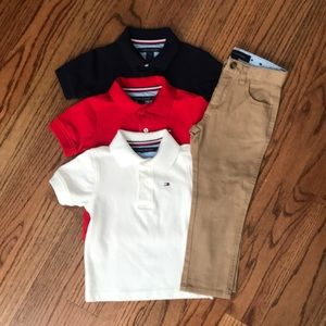 Tommy Hilfiger Polos and Pants
